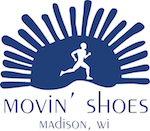 Movin' Shoes logo